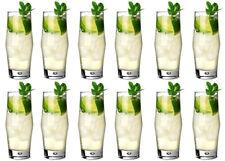 SALE!!! 12X DUROBOR BREK COCKTAIL GLASSES HIGHBALL DRINKING GLASSES 350ML