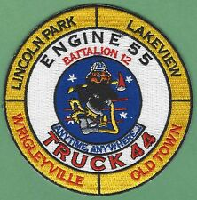 CHICAGO FIRE DEPARTMENT ENGINE 55 TRUCK 44 COMPANY PATCH