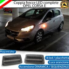 COPPIA FRECCE LATERALI 36 LED DINAMICHE SPECIFICHE OPEL CORSA E CANBUS DINAMICA