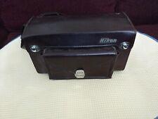 Vintage NIKON Camera Bag Case Shoulder Strap Adjustable  Leather