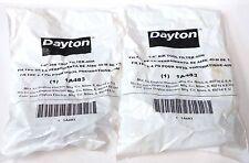 "DAYTON 1A483, 1/4"" NPT AIR TOOL FILTER, 500 PSI, LOT OF 2"