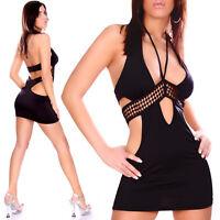 New Women Clubbing Mini Dress Sexy Ladies Party Top Blouse Shirt Size 6 8 10 S M