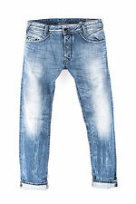 MENS DIESEL IAKOP WASH 0816P Faded Effect Slim Tapered Jeans Denim W29 L34