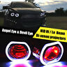 2x 2.5 Inch H1 HID Bi-Xenon Projector Len HI/LO Beam Angel & Devil Angel Eyes