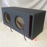 Sundown Audio E V.5 SA8 V1.5 SA8v2 SA8v3 X-8 V.2 Custom Ported Sub Box 1.5 Birch