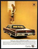 "1970 Cadillac Fleetwood Brougham Sedan photo ""Total Excellence"" vintage print ad"