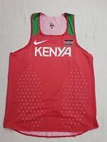 Nike Kenya 2018 Pro Elite Singlet Track and Field Athletics Olympics Men's Large