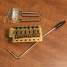 GUITAR TREMOLO BRIDGE - 6-Screw Trem - Sung il BS - Gold