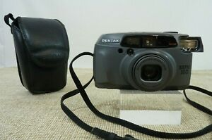 Pentax Espio 160 Compact 35mm Film Camera with case - Thames Hospice