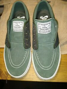 Nike Zoom Stefan Janoski OG Mens Skate Shoes Size 4.5 Green 833603