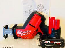 M12 FUEL HACKZALL Recip Saw Milwaukee 2520-20 New + (1) 4.0AH Battery 48-11-2440