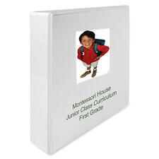 Montessori Teaching Album First Grade Curriculum for Home or School