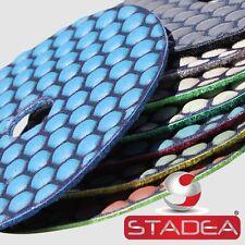 "4"" Diamond Polishing Pads Dry Ultra Prem 8P Set Granite"