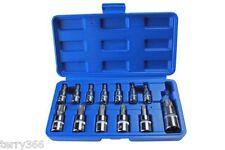 Bergen outils 13pc torx star bit socket set - 1183 mixed drive T8-T70
