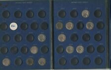 22 buffalo nickels usa in folder,with rare 1917d,1918s,