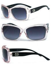 New Women DG Eyewear Sunglasses 100% UV400 - Transparent Pink Frame DG131