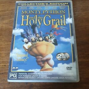 Monty Python and the Holy Grail Collector's Edition DVD R4 Like New! FREE POST