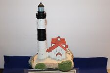 Harbour Lights Lighthouse #228 Big Sable Pointe, Mi with orig box Coa & signed