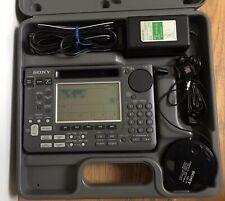 Sony ICF SW55 World Band Shortwave Radio Receiver Working Plastic Case