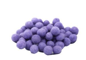 10 Perles Boules de Feutre Feutrine naturelle Ø 1.5 cm NEPAL M