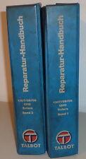 Manual de Taller Talbot Solara / 1307/1308/1309/1510 Von 05/1980 (2bände)