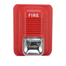 90 dB Strobo Alarmsirene  Sicherheitssystem Feueralarm Alarm Sirene DC24V