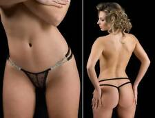 String Folies By Renaud Brooke Sexy Panties Lingerie women underwear briefs