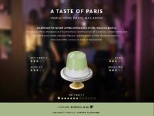 LIMITED EDITION 2018 : 20 x Paris Variations MACARON Nespresso Coffee Capsules.