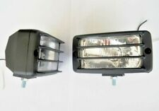 2x 12V Front Flood Lights Car Van SUV Bus Camper Quad H1 55W Roof Light Bar Lamp