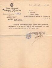 II° GUERRA MONDIALE - UNIONE NAZIONALE PROTEZIONE ANTIAEREA - SIENA 1942