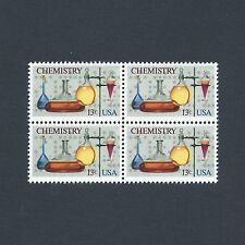 The American Chemical Society - 100th Anniversary Vintage Mint Set of 4 Stamps!