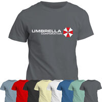 Umbrella Corporation T Shirt   Resident Evil Inspired Tee Top   Zombie   Game