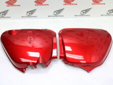 HONDA CB 750 FOUR k1 k2 side cover set Left + Right Side Candy Ruby Red repro