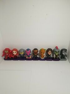 2019/2020 McDonalds Happy Meal Marvel Toys Lot of 9 Avengers End Game