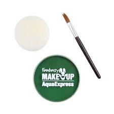 Maquillage de scène vert pour déguisements et costumes