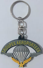 Porte-Clé en caoutchouc TAP PARA Parachutiste TROUPES AÉROPORTÉES & 2°REP LÉGION