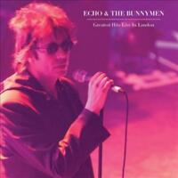 ECHO & THE BUNNYMEN - GREATESTHITS LIVE IN LONDON NEW VINYL