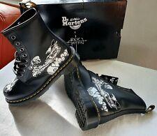 Dr. Martens 1460  BW Backhand  Stiefel Boots Rick Griffin Neu mit Karton