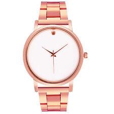 Fashion Men Women Crystal Casual Sport Stainless Steel Analog Quartz Wrist Watch