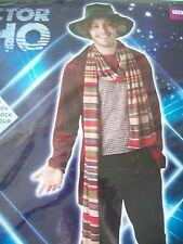 Dr Who  THE 4th DOCTOR    Tom Baker Adult Mens Fancy Dress Costume SIZE  STD