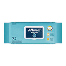 """Attends Washcloths Scented Adult Wipes BULK - 8"""" x 12"""" (Case of 864) WCCP1000"""