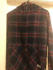 The Hundreds Men's Small S Hoodie Sweater Sweatshirt Zip up Multicolor Flannel