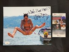Naked TOMMY LEE of Motley Crue SIGNED 8x10 PHOTO JSA AUTHENTICATION