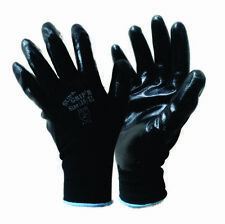 Size 10 Nitrile Palm Work Gloves x 20 Pairs paster worker garden outdoors $40