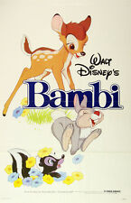 "Walt Disney Bambi Movie Poster Replica 13x19"" Photo Print"
