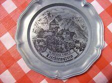 """Schloss Vaduz Liechtenstein 8 3/4"""" collector's plate"""