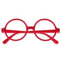Cool Cute Unisex Retro Fashion Round Oval Eyeglasses Glasses Big Frame No LENS