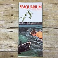 Vintage Brochure Seaquarium Virginia Key Miami Florida FL Travel Advertising