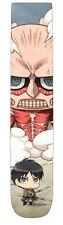 Attack on Titan Chibi Photoreal Crew Socks (1 Pairs) Size 4-10 EL-2464 US Seller