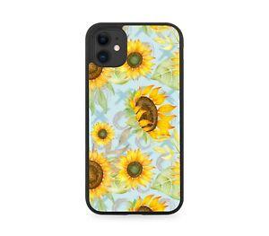 Summer Sunshine Sunflowers Rubber Phone Case Sunflower Petals Sun Flower F940
